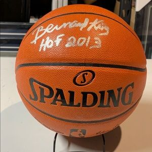 Other - Bernard King Signed  HOF 2013 Basketball JSA